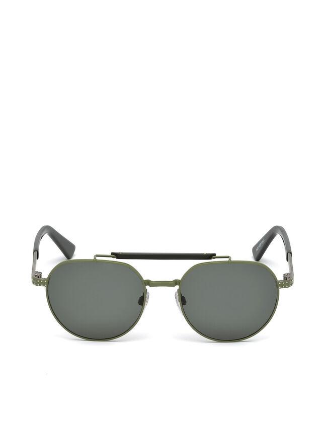 Diesel - DL0239, Military Green - Sunglasses - Image 1