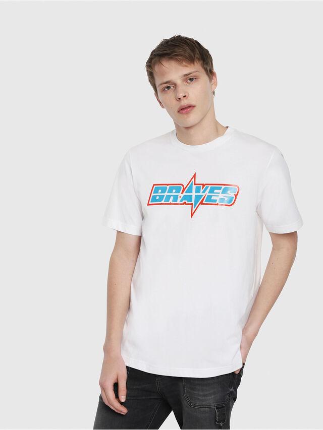 Diesel - T-JUST-YB, Blanc - T-Shirts - Image 1