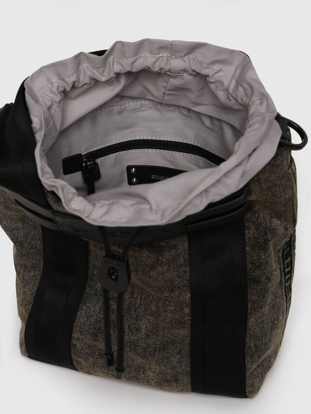 Diesel - D-CAGE BUCKET, Grey Jeans - Shopping and Shoulder Bags - Image 4
