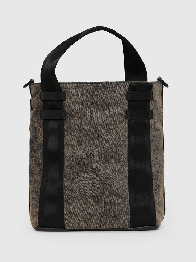 Diesel - D-CAGE BUCKET, Grey Jeans - Shopping and Shoulder Bags - Image 2