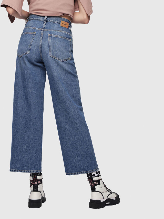 Diesel - Widee 080AN, Medium Blue - Jeans - Image 2