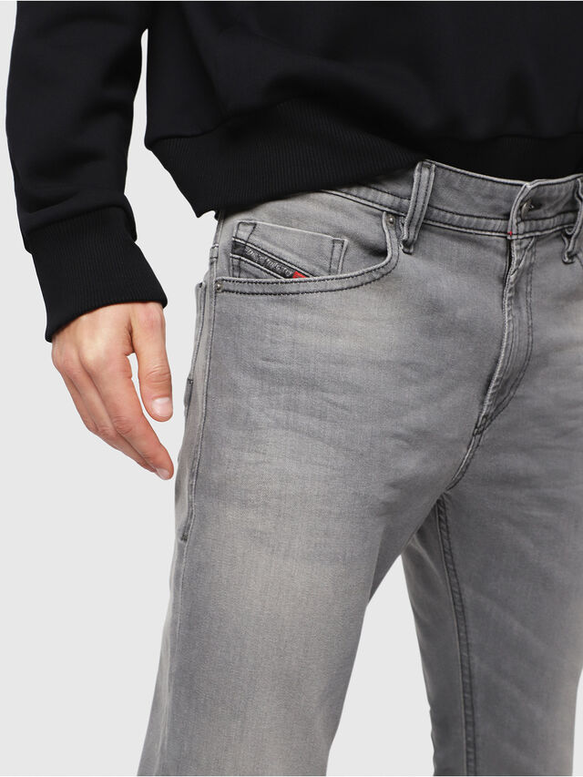Diesel - Thommer C84HP, Light Grey - Jeans - Image 3