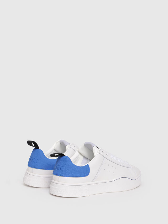 Diesel - S-CLEVER LOW W, White/Blue - Sneakers - Image 3