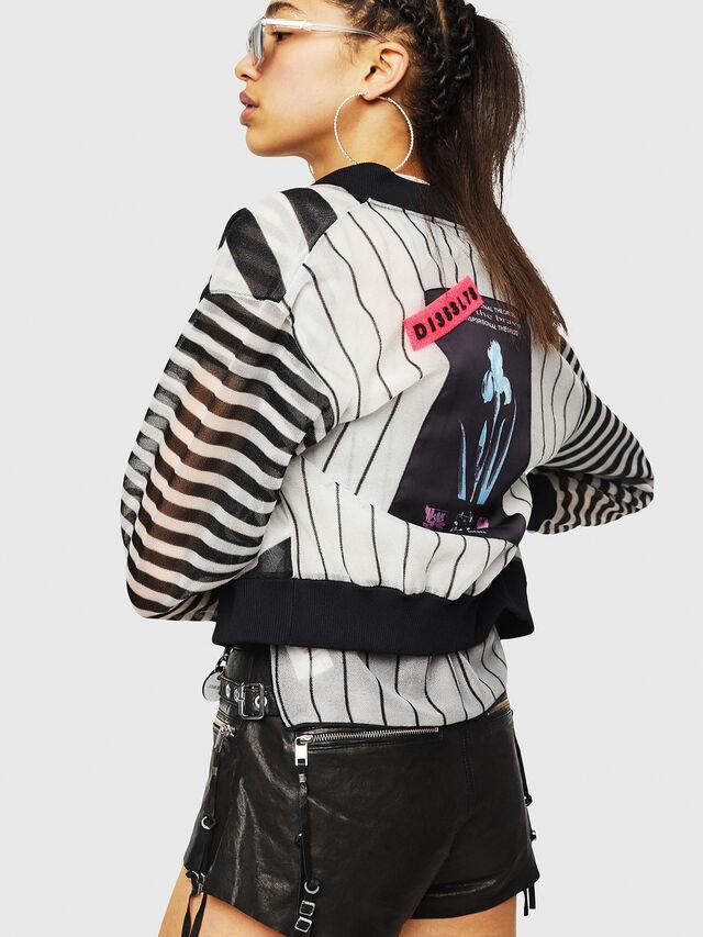 Diesel - M-DIXIT, Black/White - Sweaters - Image 4