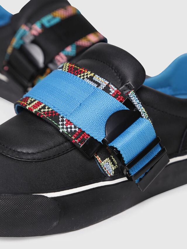Diesel - S-FLIP LOW BUCKLE W, Black - Sneakers - Image 4