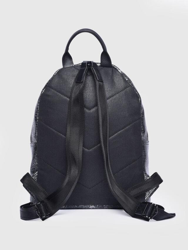 Diesel - LE-ONY, Silver - Backpacks - Image 2