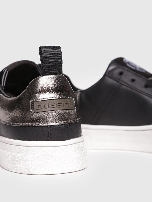 Diesel - S-CLEVER LOW W, Bright Black - Sneakers - Image 4