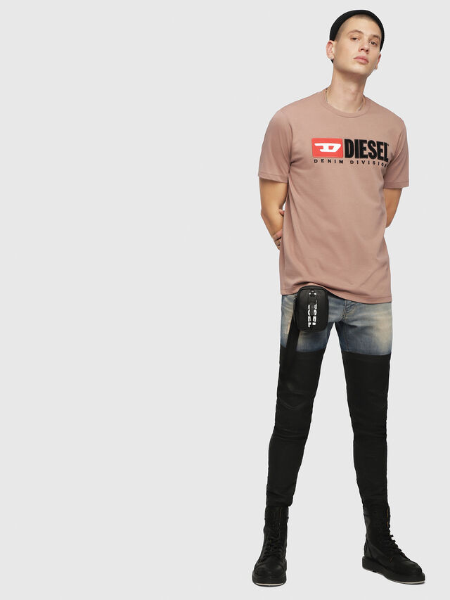 Diesel - T-JUST-DIVISION, Face Powder - T-Shirts - Image 4