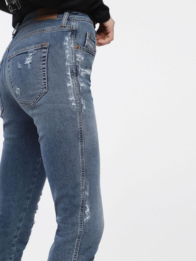 Diesel - Babhila 085AH, Medium Blue - Jeans - Image 3