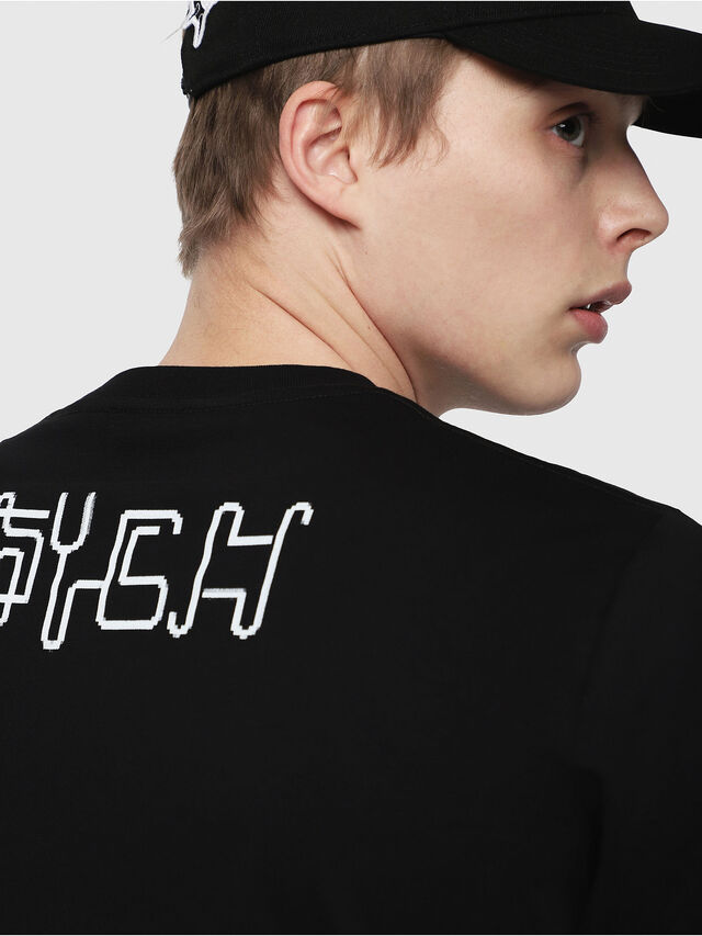 Diesel - T-JUST-Y5, Black - T-Shirts - Image 3