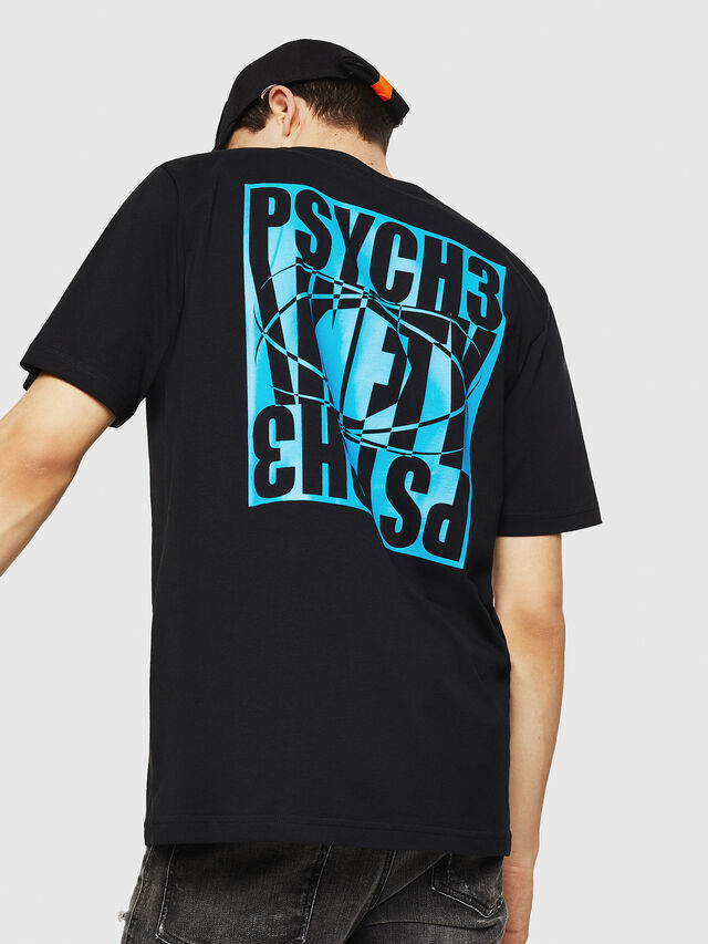 Diesel - T-JUST-Y20, Noir - T-Shirts - Image 2