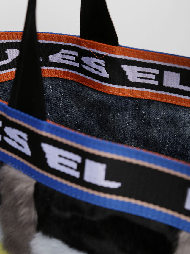 Diesel - ARAJUKU SHOPPER M, Multicolor - Shopping and Shoulder Bags - Image 3