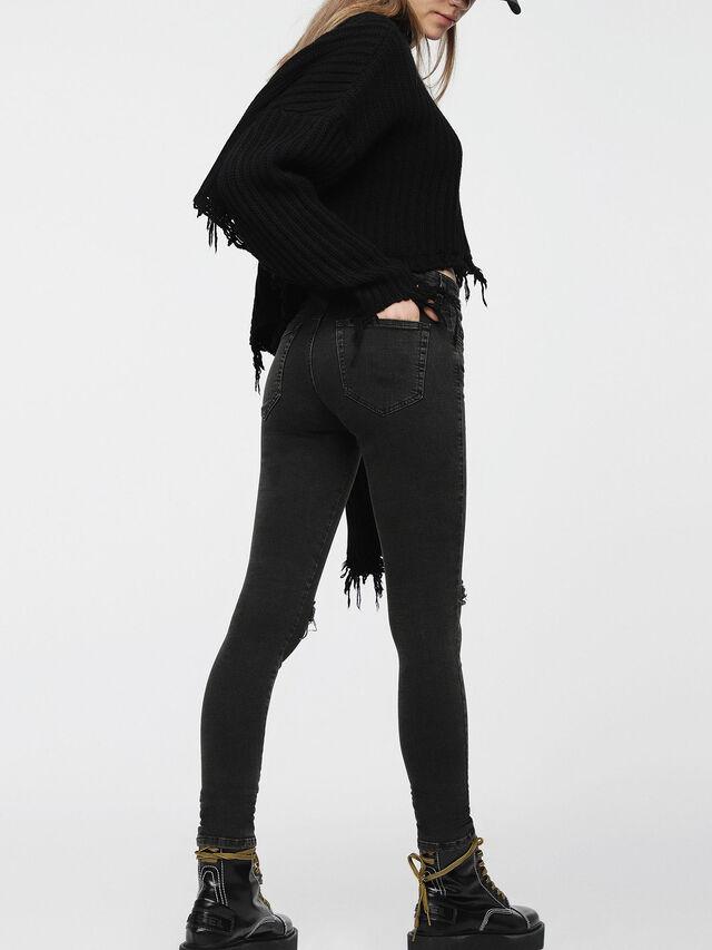 Diesel - Slandy 069BW, Black/Dark Grey - Jeans - Image 2