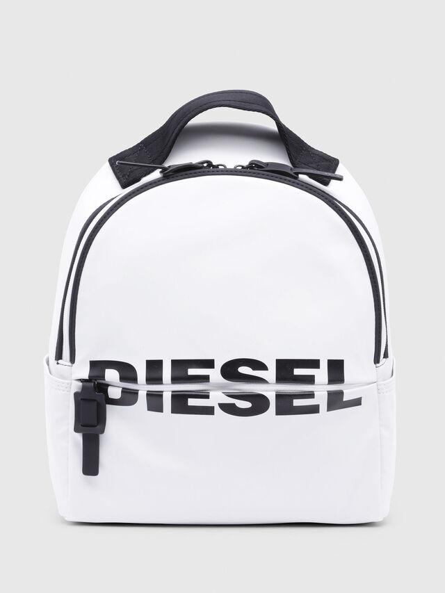 Diesel - F-BOLD BACK FL, White - Backpacks - Image 1