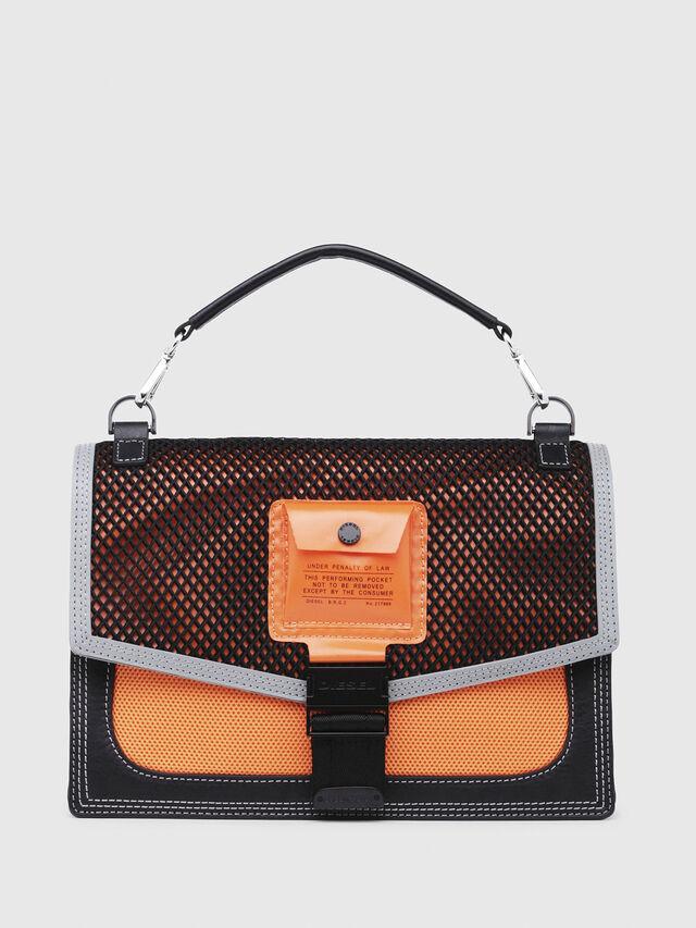 Diesel - MISS-MATCH CROSSBODY, Blue/Orange - Crossbody Bags - Image 1