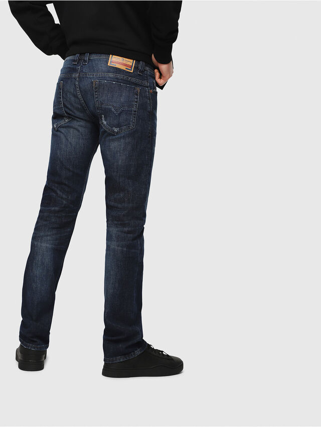 Diesel - Safado C87AN, Medium Blue - Jeans - Image 2