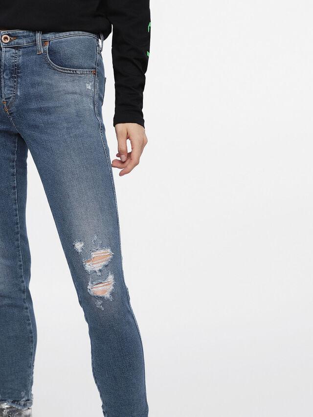 Diesel - Babhila 085AH, Medium Blue - Jeans - Image 4