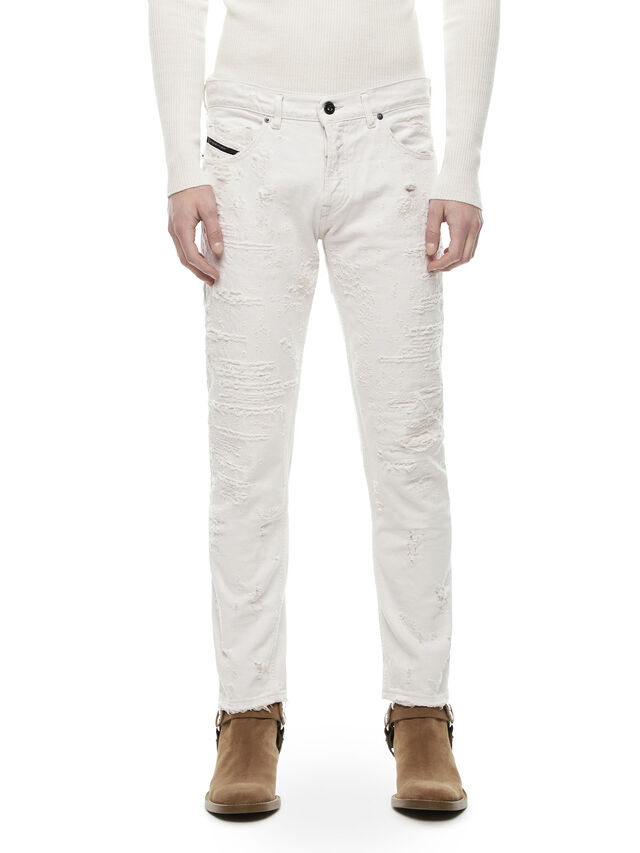 Diesel - TYPE-2813FS, White - Jeans - Image 1