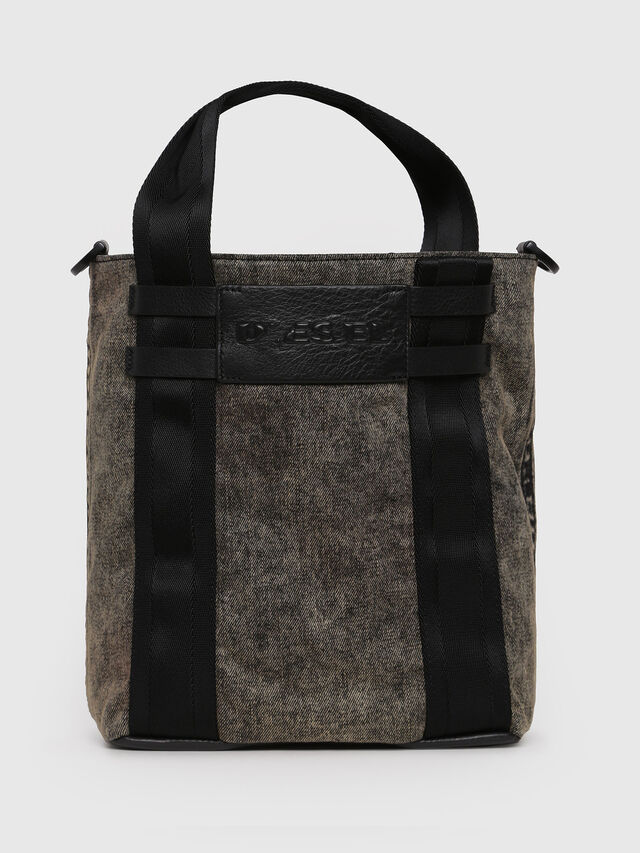 Diesel - D-CAGE BUCKET, Grey Jeans - Shopping and Shoulder Bags - Image 1