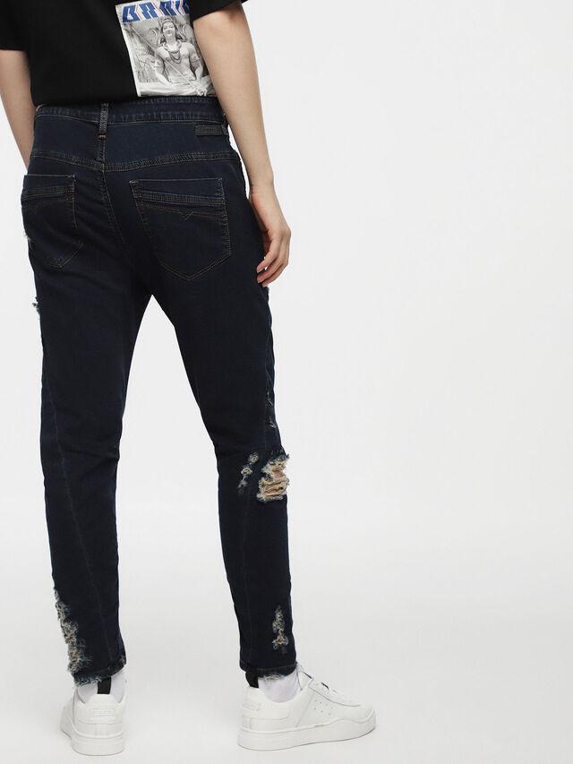 Diesel - Fayza JoggJeans 069AR, Medium Blue - Jeans - Image 2