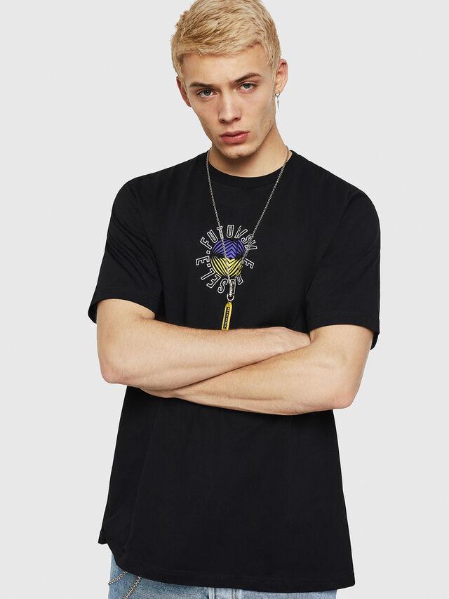Diesel - T-JUST-Y19, Black - T-Shirts - Image 1