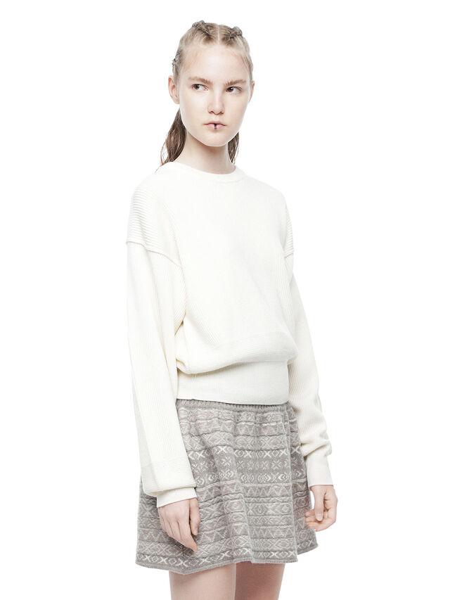 Diesel - MIRIKO, White - Sweaters - Image 3