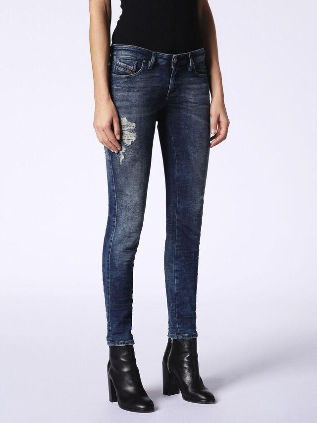 Diesel - Gracey JoggJeans 084PU, Dark Blue - Jeans - Image 4