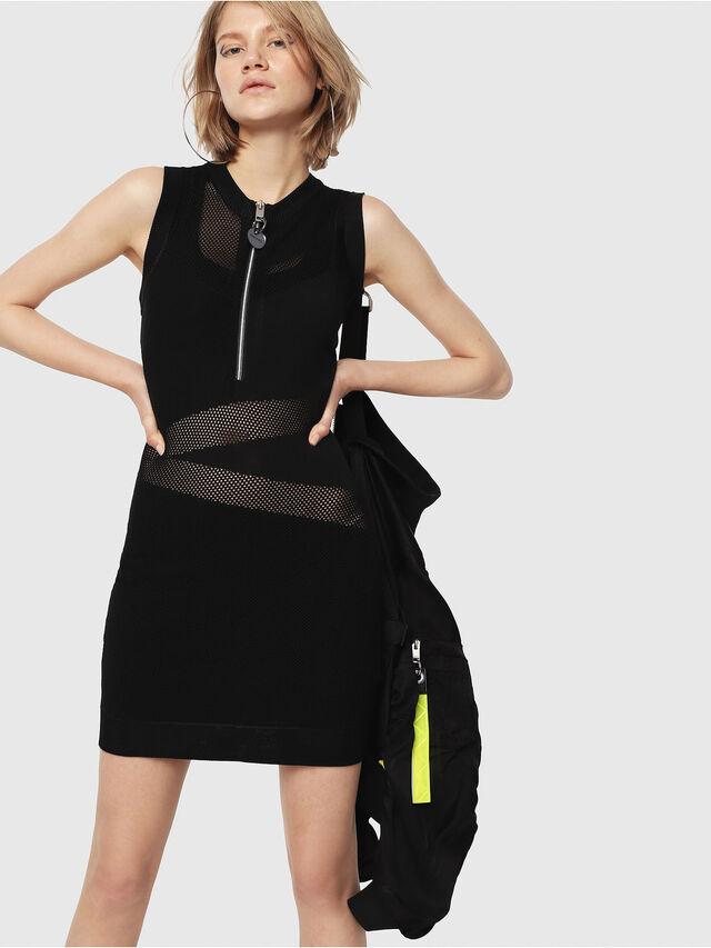 Diesel - M-FROUX, Black - Dresses - Image 1