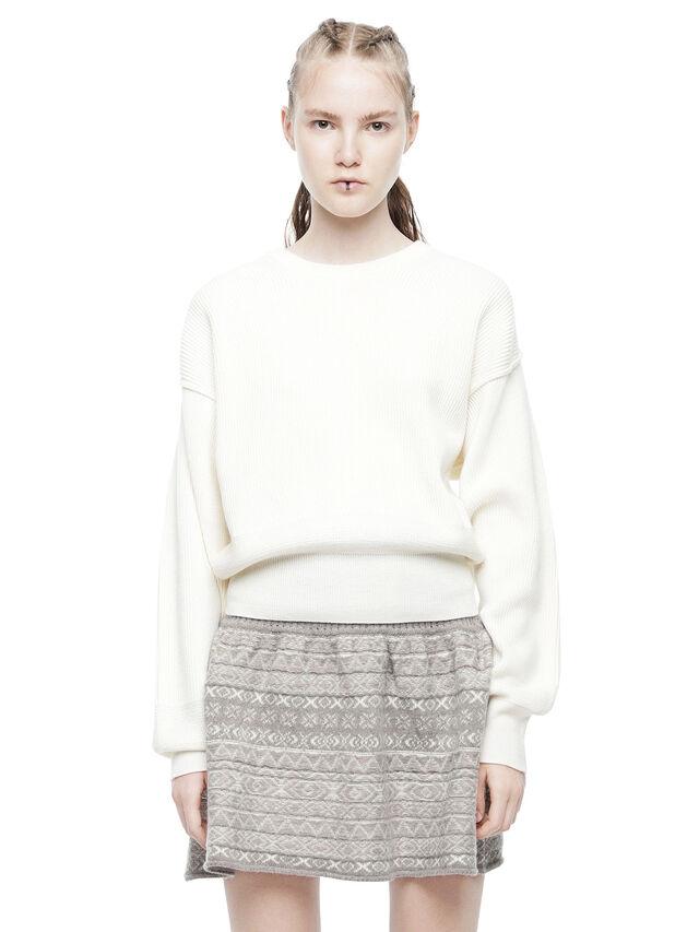 Diesel - MIRIKO, White - Sweaters - Image 1