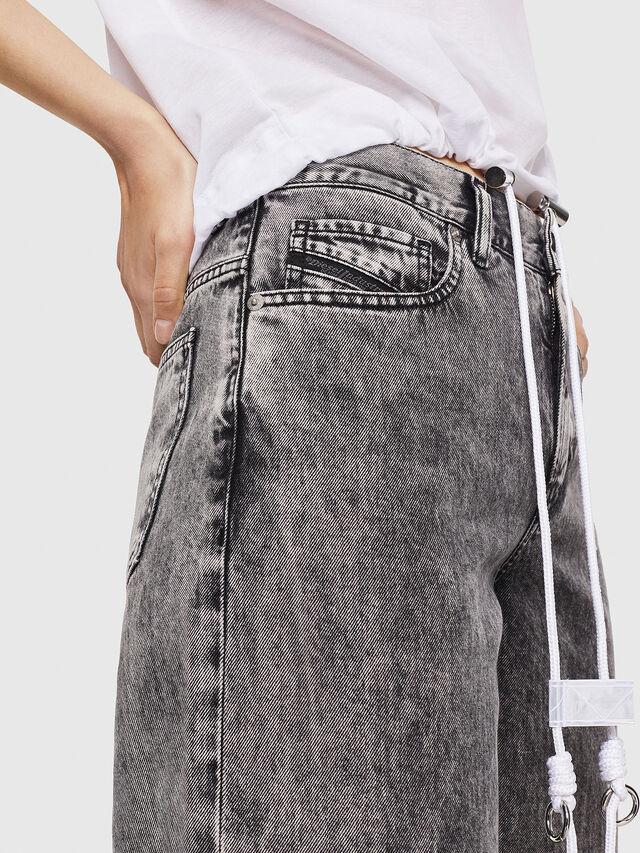 Diesel - Widee 069EB, Black/Grey - Jeans - Image 4