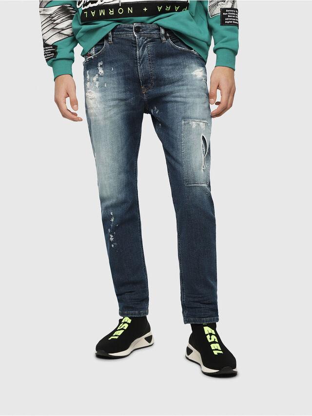 Diesel - Narrot JoggJeans 087AK, Medium Blue - Jeans - Image 1