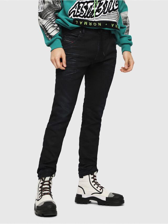 Diesel - Krooley JoggJeans 069FV, Dark Blue - Jeans - Image 1