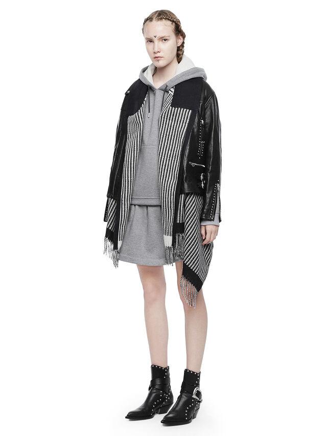Diesel - DELAN, Light Grey - Dresses - Image 4