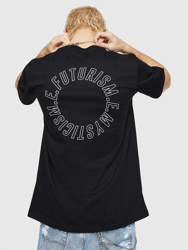 Diesel - T-JUST-Y19, Black - T-Shirts - Image 2