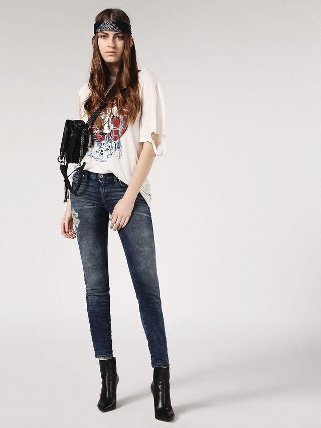 Diesel - Gracey JoggJeans 084PU, Dark Blue - Jeans - Image 5