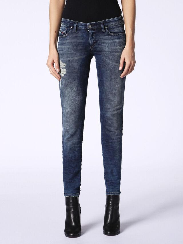 Diesel - Gracey JoggJeans 084PU, Dark Blue - Jeans - Image 2