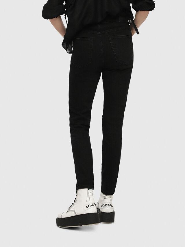 Diesel - Babhila High 084ZN, Black/Dark Grey - Jeans - Image 2