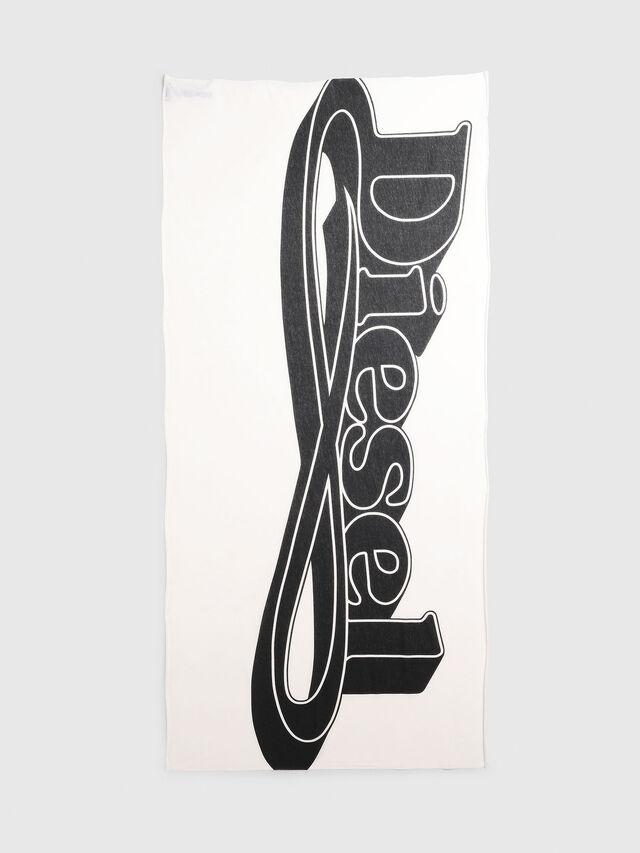 Diesel - S-KIKA, White/Black - Scarves - Image 1