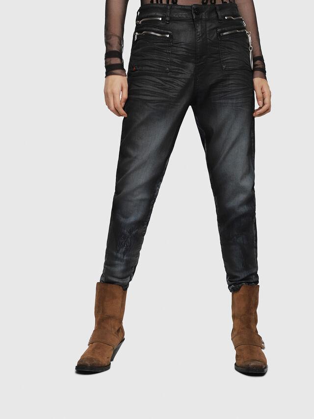 Diesel - D-Eifault JoggJeans 086AZ, Dark Blue - Jeans - Image 1
