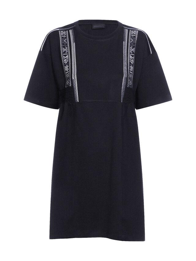 Diesel - DIPLIX, Black - Dresses - Image 4