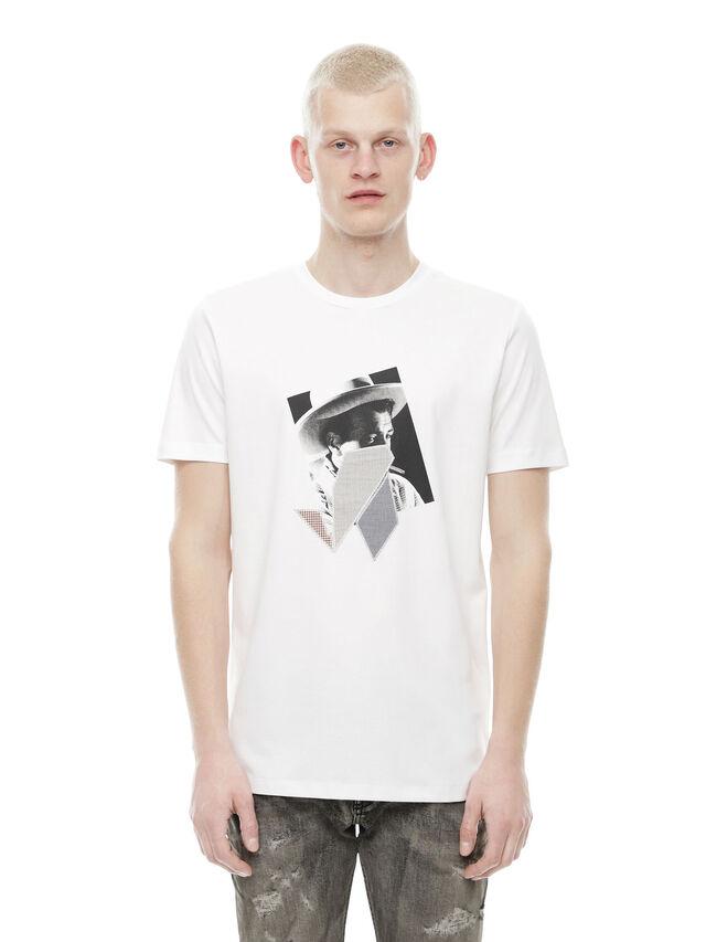 Diesel - TY-PEZZABOY1, White - T-Shirts - Image 1
