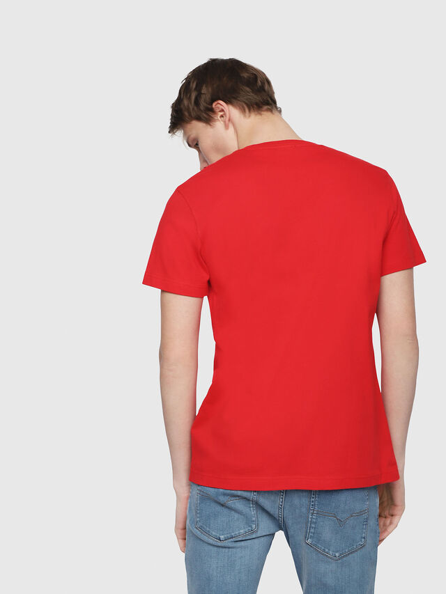 Diesel - T-DIEGO-Y2, Red - T-Shirts - Image 2