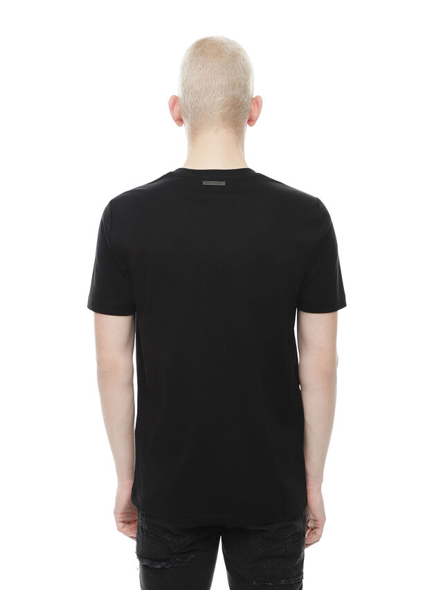 Diesel - TY-CACTUS, Black - T-Shirts - Image 2