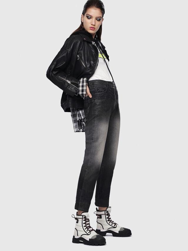 Diesel - D-Eiselle 089AU, Black/Dark Grey - Jeans - Image 4