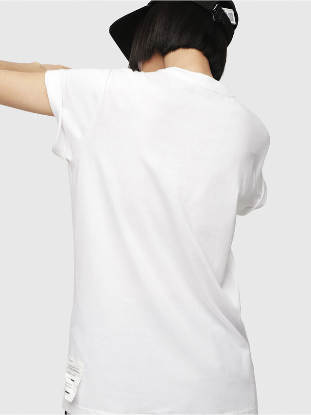 Diesel - T-DARIA-G, Blanc - T-Shirts - Image 2