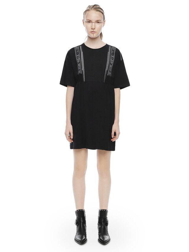Diesel - DIPLIX, Black - Dresses - Image 1