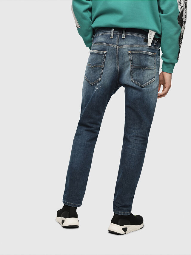 Diesel - Narrot JoggJeans 087AK, Medium Blue - Jeans - Image 2