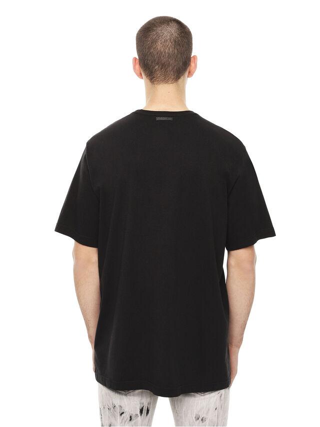 Diesel - TCUT, Black/White - T-Shirts - Image 2