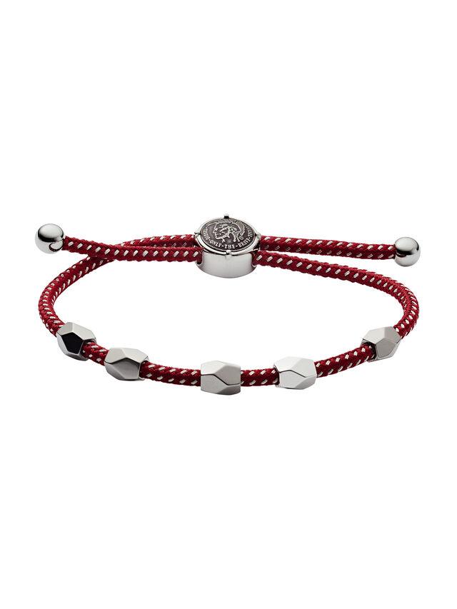 Diesel - DX1141, Red/Grey - Bracelets - Image 1