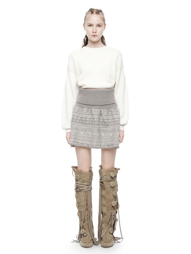 Diesel - MIRIKO, White - Sweaters - Image 4